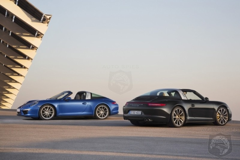 DETROIT AUTO SHOW: FIRST Shots Of The All-New Porsche 911 (991) Targa LEAK OUT EARLY!